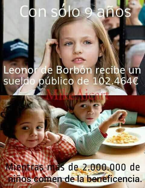 #RepúblicaSinMiedo Ni La Justicia es igual para tod@s Ni en la vida Vergüenza Las Dos Españas 👇