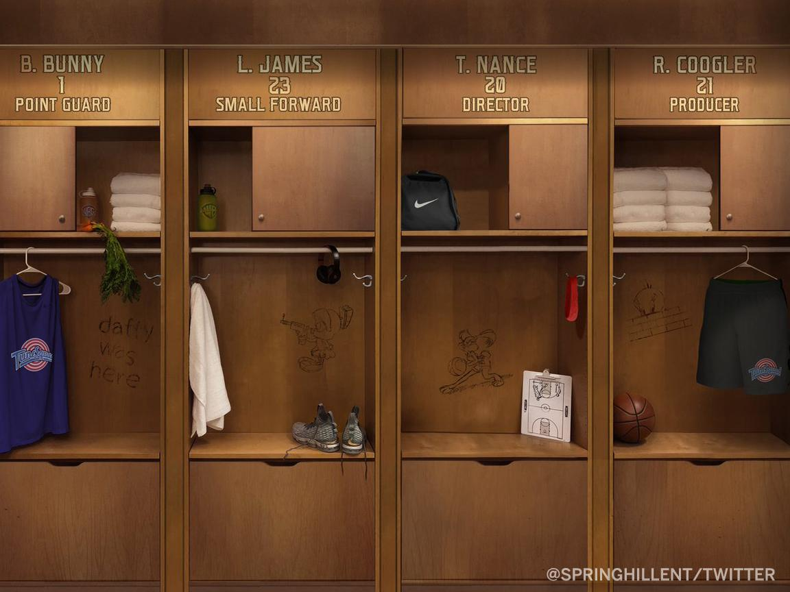 Looks like @SpringHillEnt just teased a 'Space Jam' sequel with @KingJames 👀