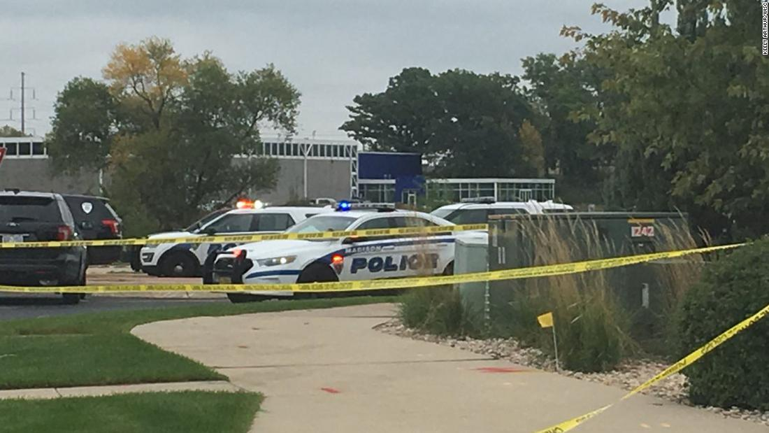 Update: The chief of police says a Middleton, Wisconsin, office shooting left four people injured, including the shooter. Earlier, city officials said the total was fivehttps://t.co/bFX2nW6pcd.