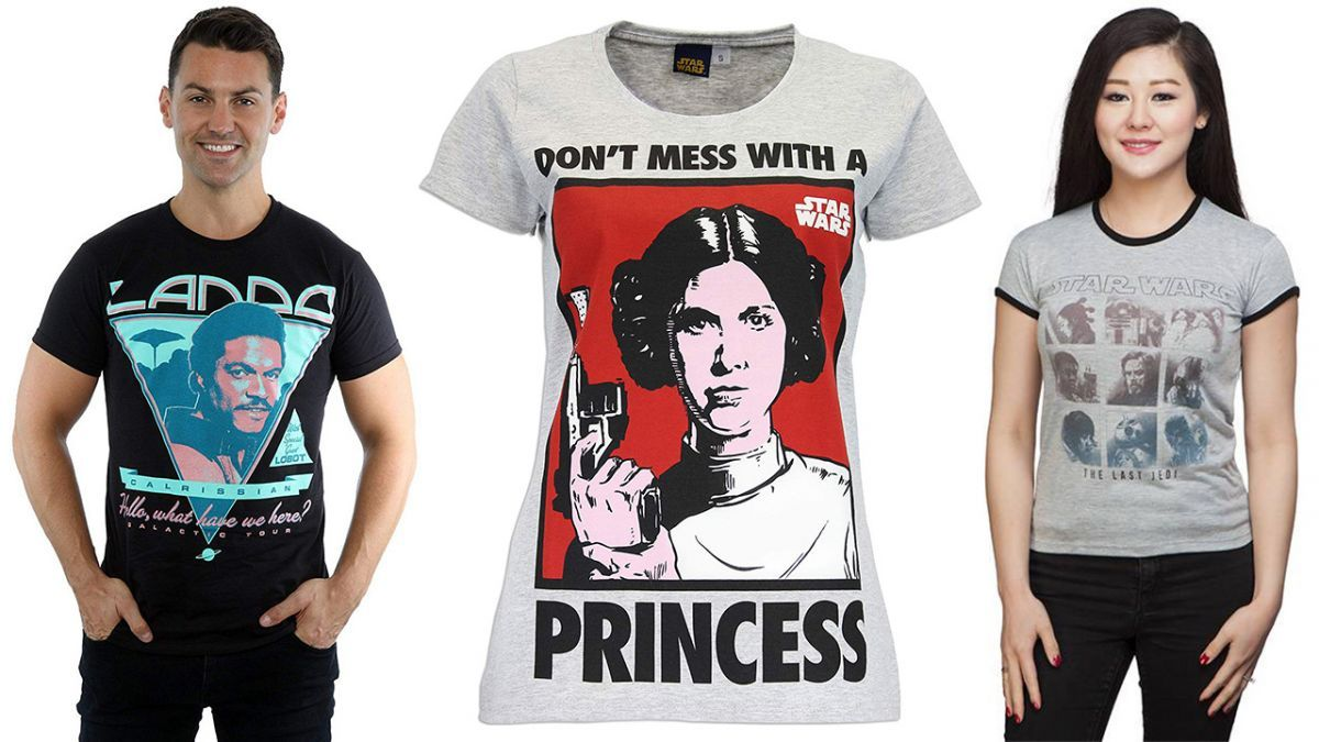 The best #StarWars t-shirts for the dressed down Jedi in your life https://t.co/U00kN5jWdA
