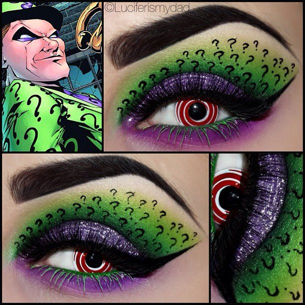 Set Sytes On Twitter These Batman Eye Makeup Makeupartist
