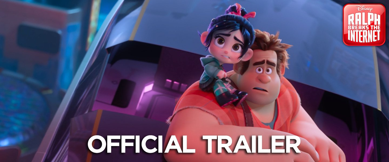 An all-new trailer, now loading. ����See #RalphBreaksTheInternet in theatres November 21. https://t.co/zxibOsxp01