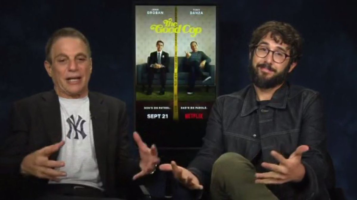 Josh Groban and Tony Danza star in Netflix's newest series 'The Good Cop' https://t.co/xaPP80y46j