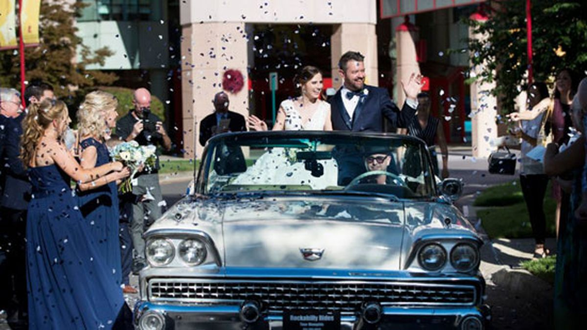 St. Jude employees marry years after meeting as patients #wmc5 >>https://t.co/FHR7EXdjHz