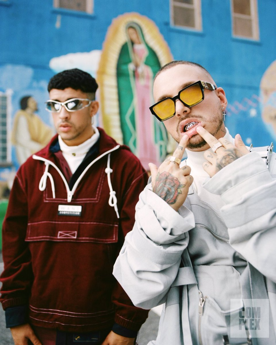 073afedc Too fire! http://Www.complex.com/music/bad-bunny-j-balvin-interview-2018- cover-story …pic.twitter.com/JS21IhNTUR