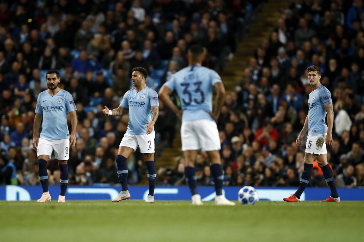 4 - Manchester City are the first English team to lose four consecutive Champions League matches in the competition's history. Surprising.