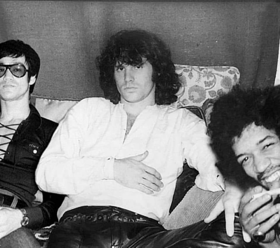 Panh Rithy On Twitter Bruce Lee Jim Morrison Jimi Hendrix
