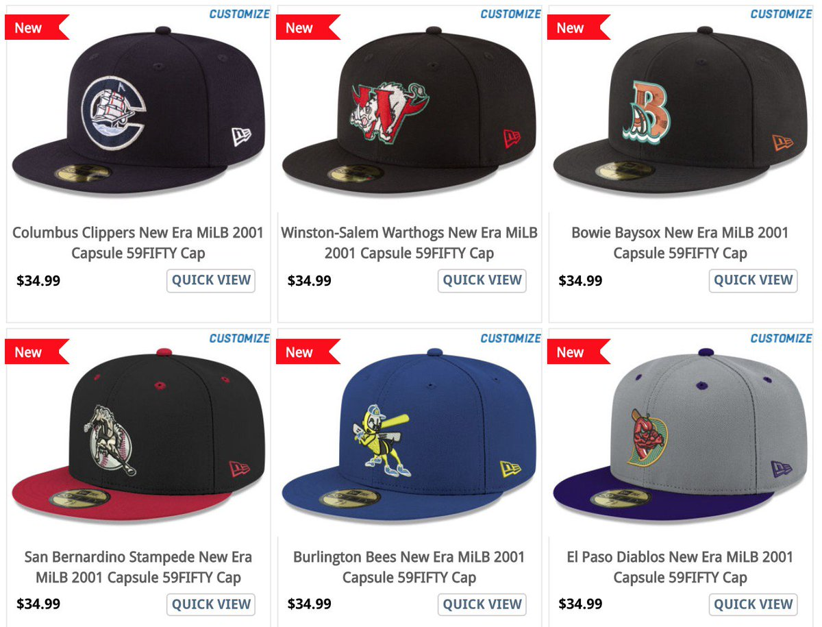a2b4c4c76eb Look at them here   http   www.anrdoezrs.net links 8280608 type dlg https   www.lids.com new-era  style milb-2001-capsule-59fifty-cap …pic.twitter.com  ...