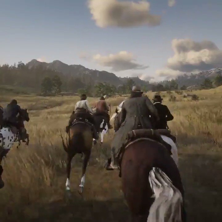 The west comes alive in Red Dead Redemption 2.   Available October 26 on PS4: https://t.co/ZVSxApFXRD https://t.co/Q1b10MrBSb
