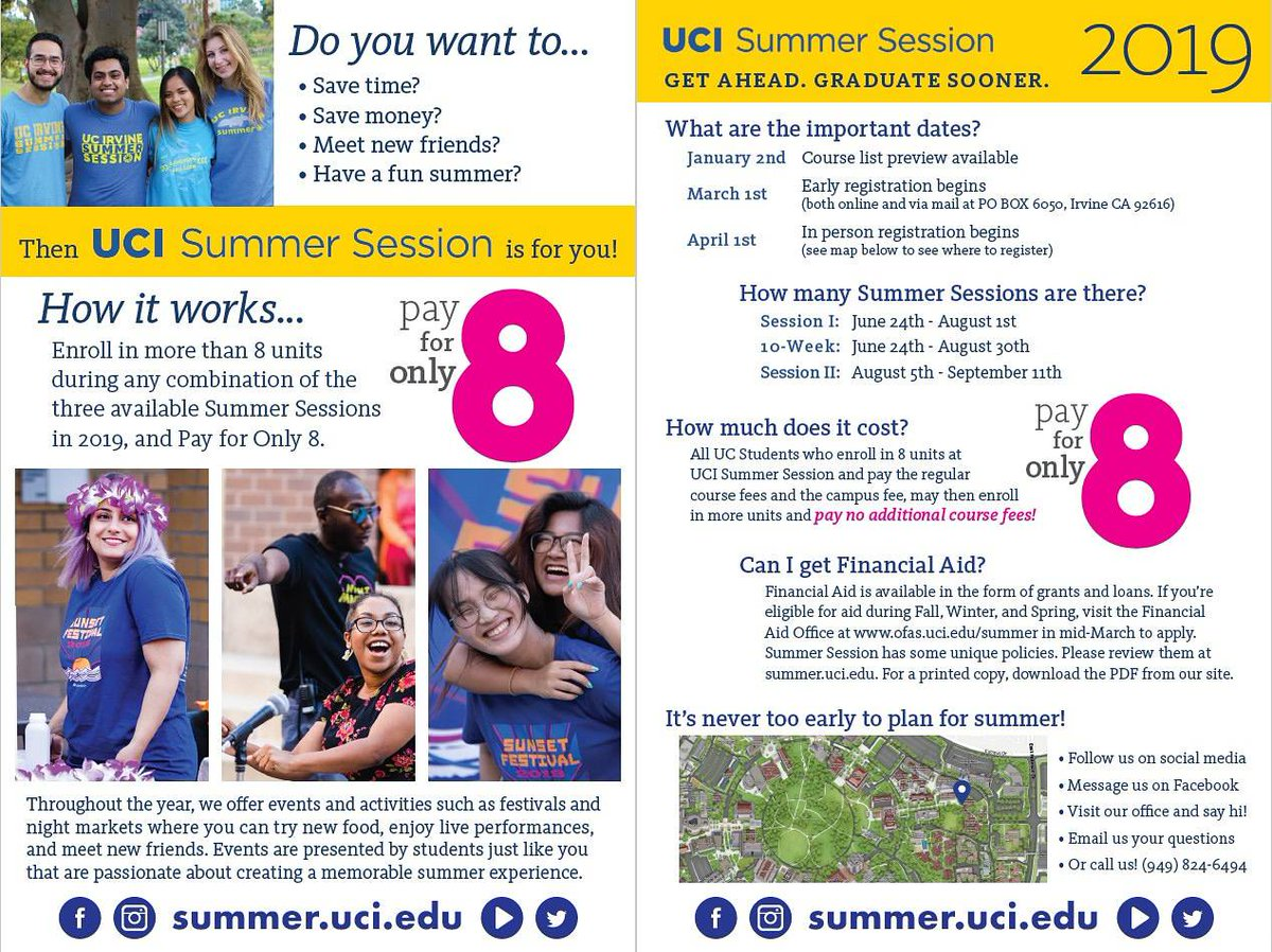UCI Summer Session on Twitter:
