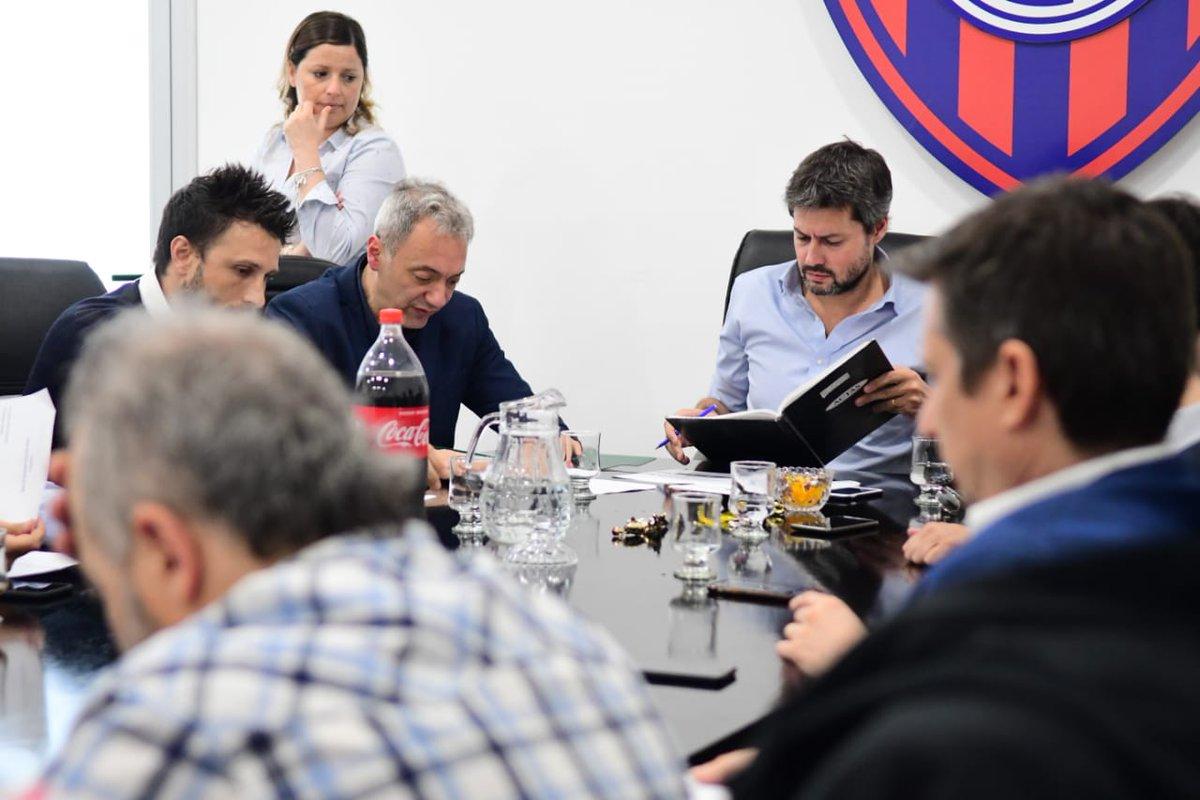 san lorenzo reunion de comision directiva