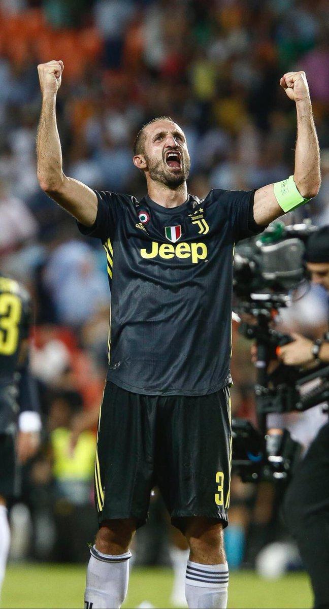 Una vittoria di squadra!!! Il grande orgoglio della Juventus!!! Avanti così!!! #VCFJuve #ValenciaJuve #UCL