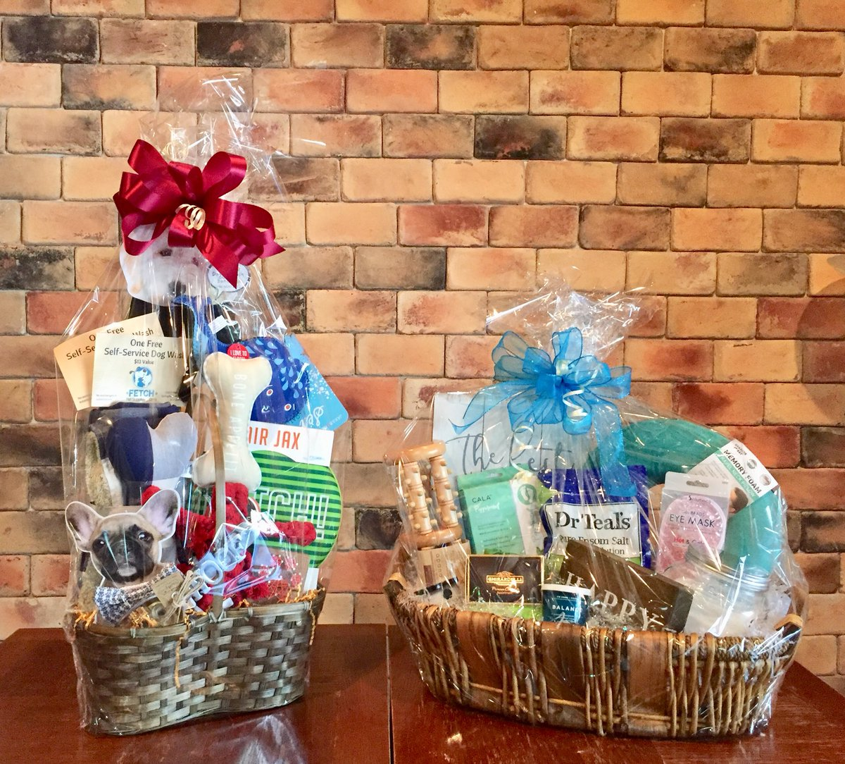 Cox College On Twitter Here Are Just A Few Of The Baskets That