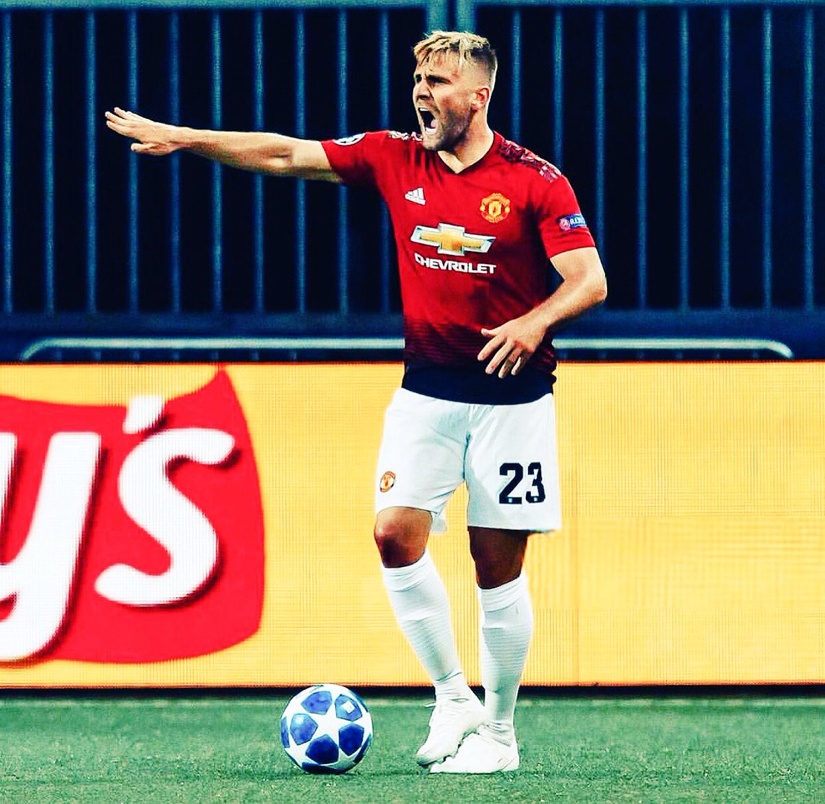 Good to be back! Thanks to all our fans❤ #UCL #MUFC