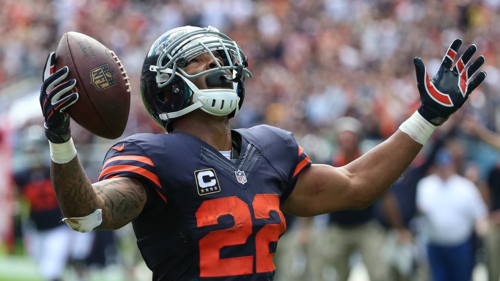 Matt Forte is on my Mount Rushmore of Chicago Bears running backs. Is he on yours?