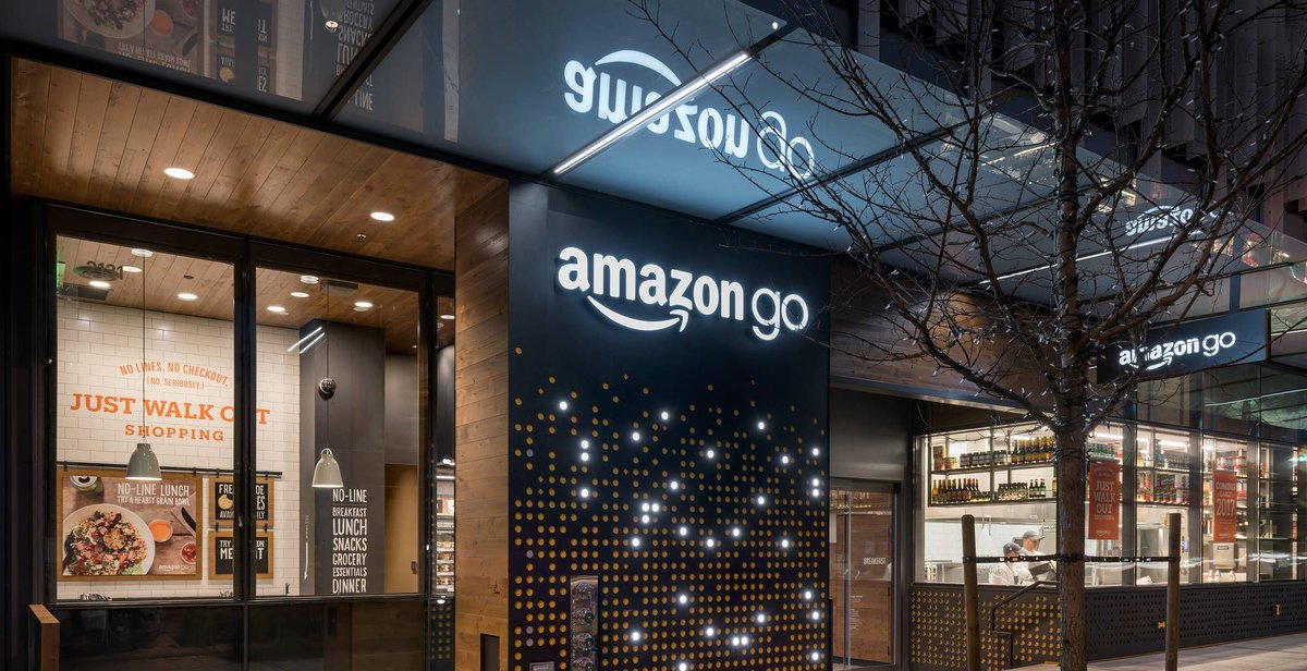 Amazon reportedly planning 3,000 cashier-less Go stores by 2021 https://t.co/W2YS2Qy7UY