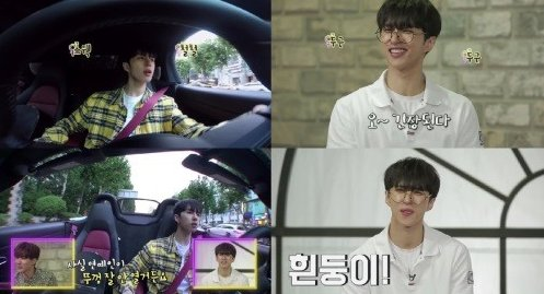 jaehwan believes that a car is a mans pride and just thinking about cars make him happy;; and he calls his white sports car white-y (same name as shinchans dog hahaha) lee jaehwan, 26 years old, owns an expensive sports car, gives it a cute name. 🌸