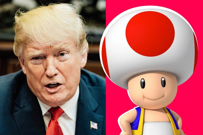 How will the president respond to his penis being described as Toad from Mario Kart? https://t.co/EmD2QYc9FB