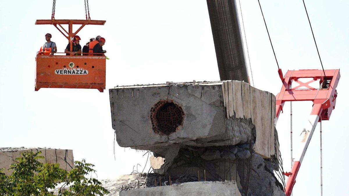 Ponte Genova, 2 progetti Autostrade per demolizione e ricostruzione #Genova http://mdst.it/02a3164243/  - Ukustom