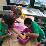 Lego Club brought teamwork, creativity, and ingenuity! #d123 #swd123 😁
