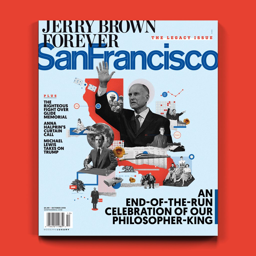 Here's a sneak peek at our October cover. Cover story on @JerryBrownGov's legacy by @ScottLucas86 dropping tomorrow