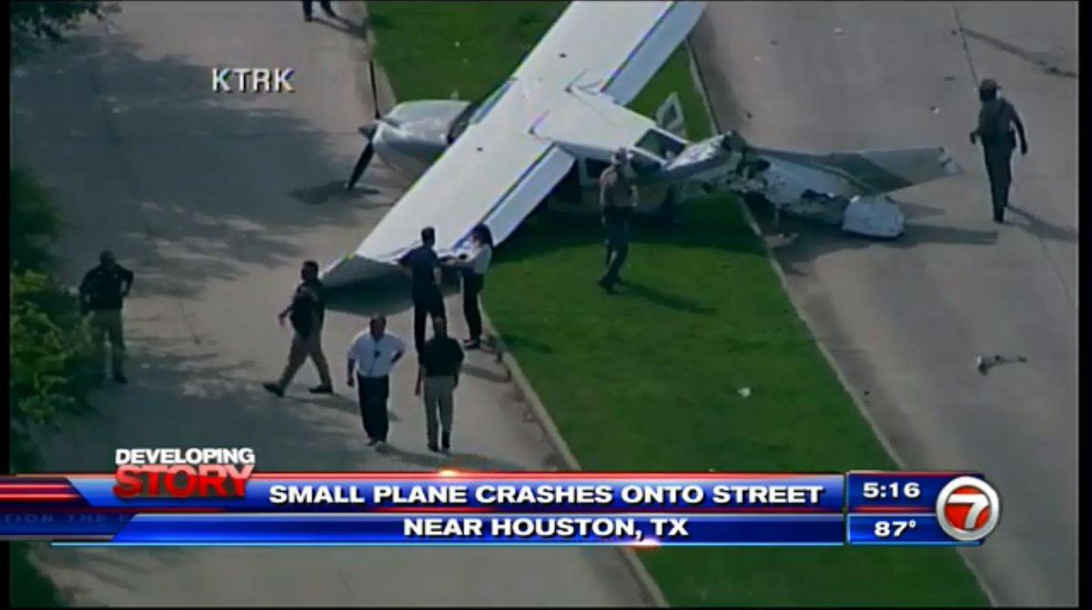 1 injured after DEA plane crashes in suburban Houston https://t.co/l2G3lTq9a9