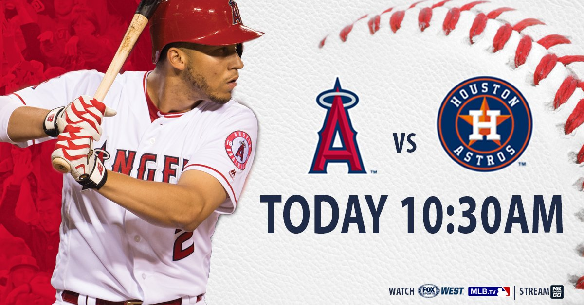 GET UP! ⏰⏰⏰  Your Sunday morning ⚾ starts with #AngelsLive NEXT!