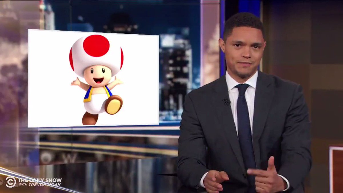 TONIGHT: Stormy Daniels says Trump's penis looks like Toad and we have A LOT OF QUESTIONS.