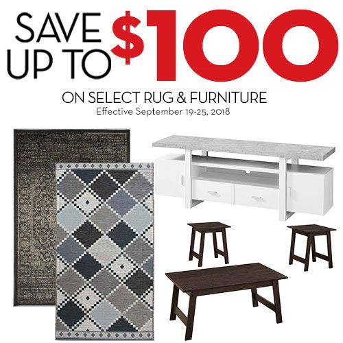 And Save Up To 100 On Select Area Rugs Furniture Offer Expires September 25 Http Bit Ly 2pkzew3 Gianttiger Foryouforless