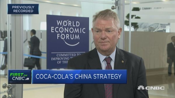 The head of Coca-Cola in China has advice for Trump and Xi: 'As all business is done in China, I'd probably suggest they exchange WeChat accounts and get on with this thing.' https://t.co/gprwOWhdsG