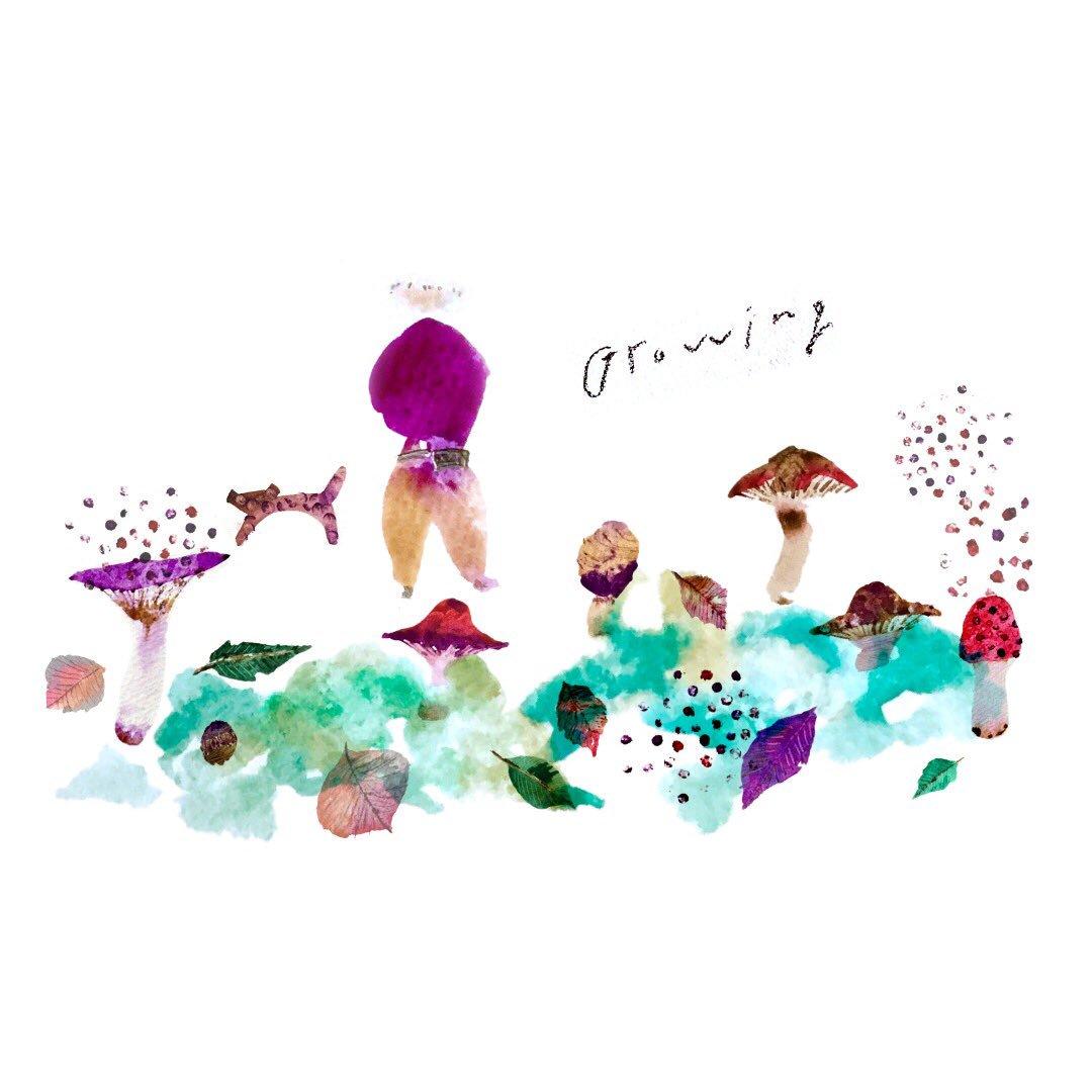 アノ On Twitter イラスト Illustration 水彩 絵本 秋 実りの秋