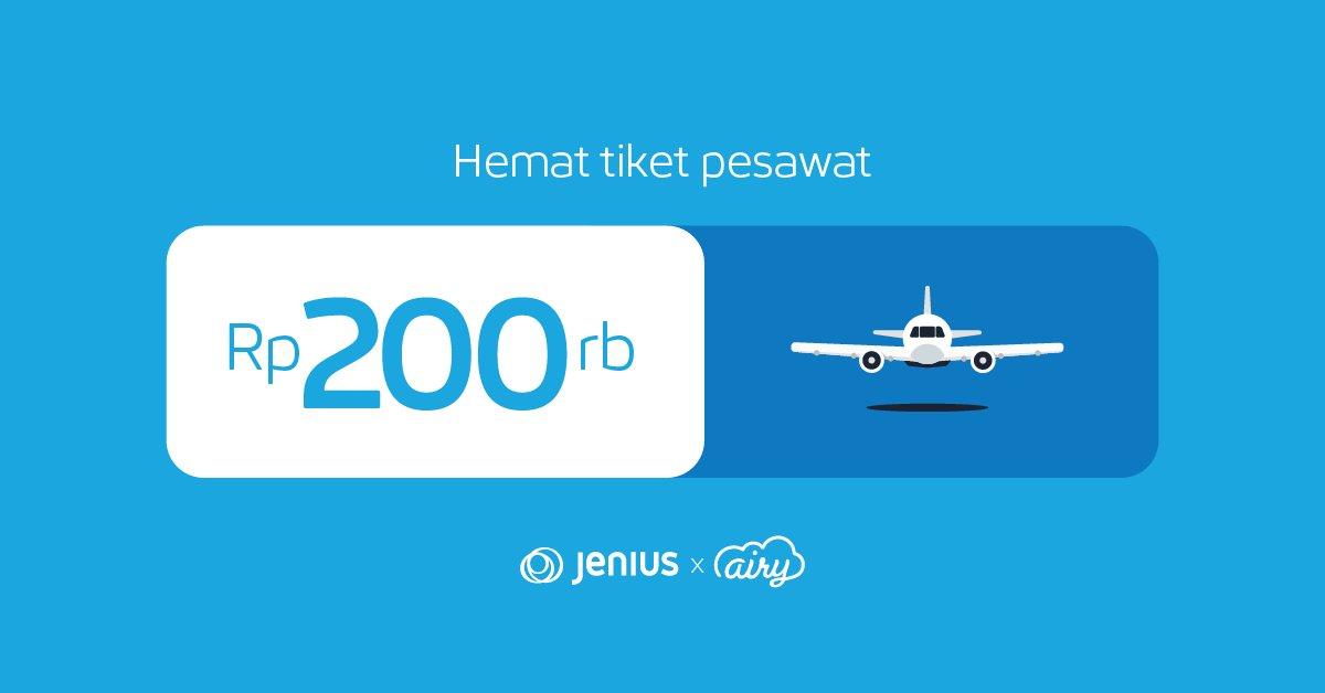 Jenius Connect On Twitter Nikmati Potongan Harga Tiket