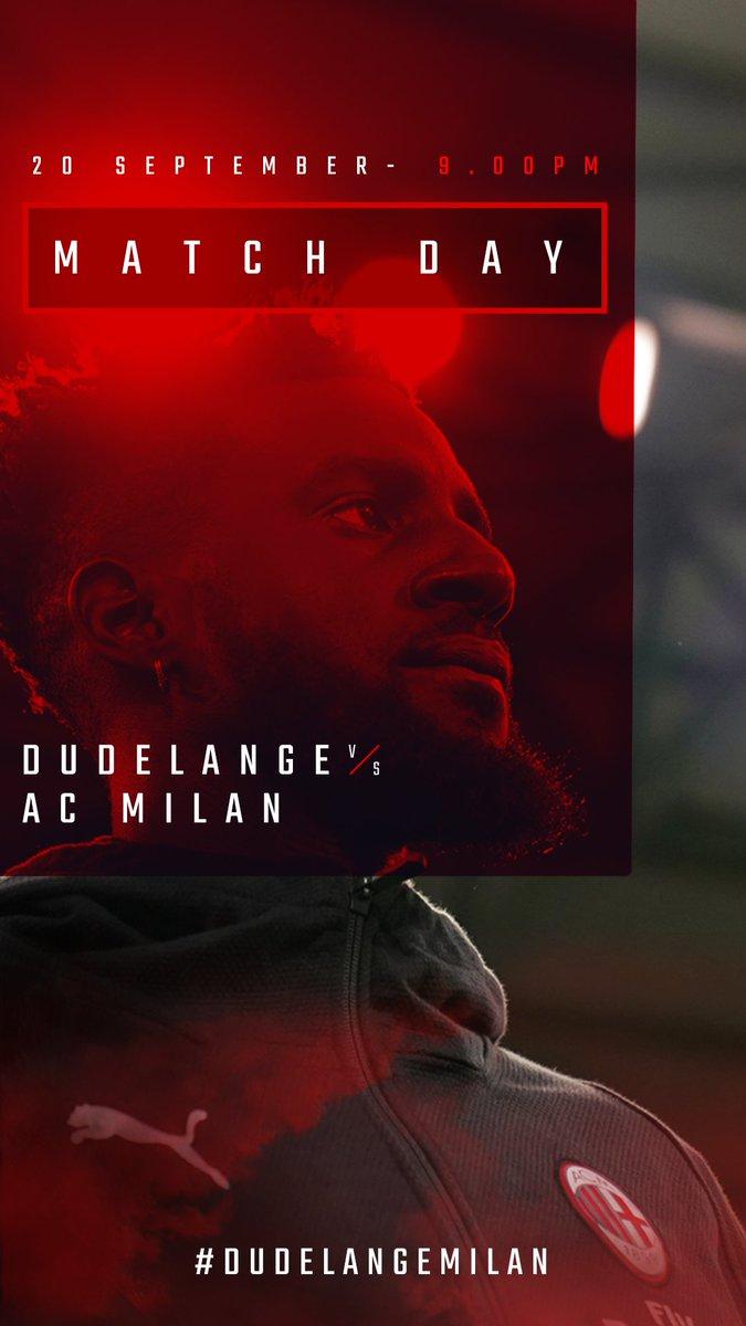 #UEL is back, t-minus 12 hours until #DudelangeMilan kicks off: come on boys! Questa sera inizia il cammino rossonero in Europa League: #ForzaMilan!