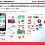 ICON partner OK cashbag. 37million subscribers reaching 70% of the population of Korea. $ICX @helloiconworld