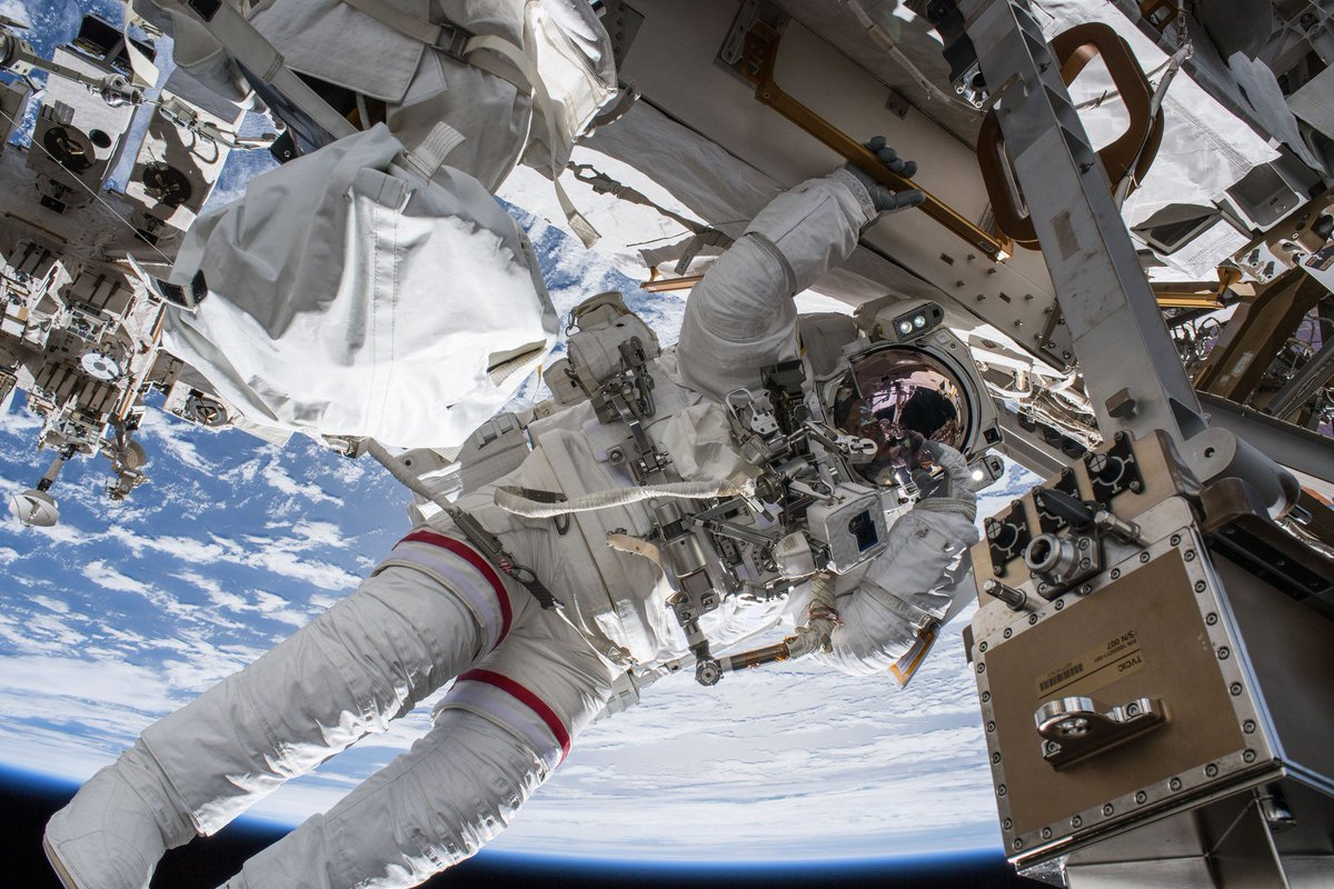 .@NASA TV will preview two upcoming spacewalks to continue station power system upgrades in a briefing at 2 p.m. EDT Thursday, Sept. 27. https://t.co/pRokXlRivo