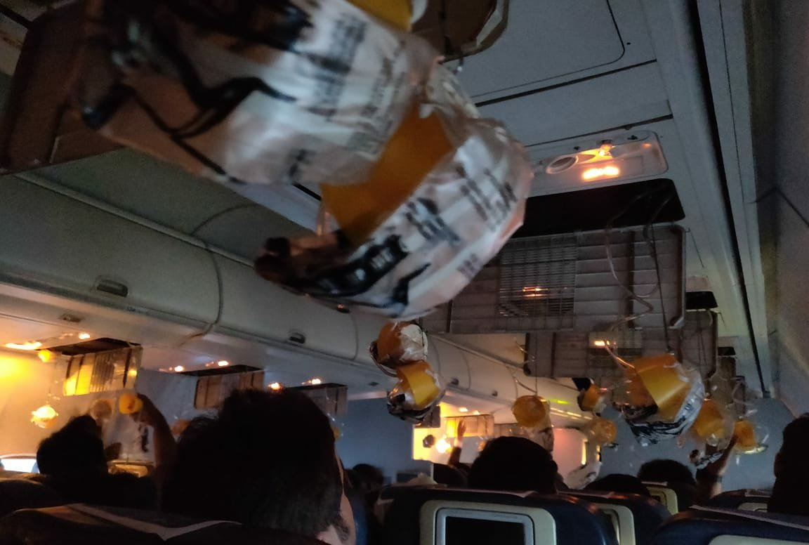 Indian flight makes emergency landing with bleeding passengers after cabin pressure drop