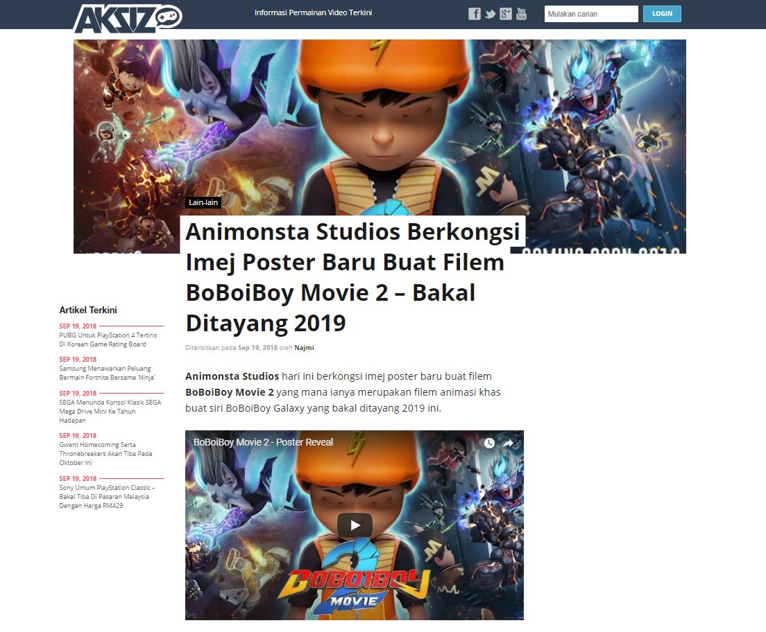 Boboiboy On Twitter Animonsta Studios Berkongsi Imej Poster Baru