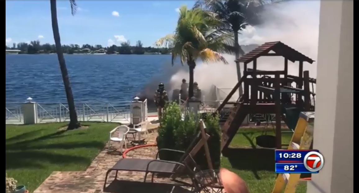 MDFR puts out boat fire in SW Miami-Dade lake  https://t.co/IONYazloqZ