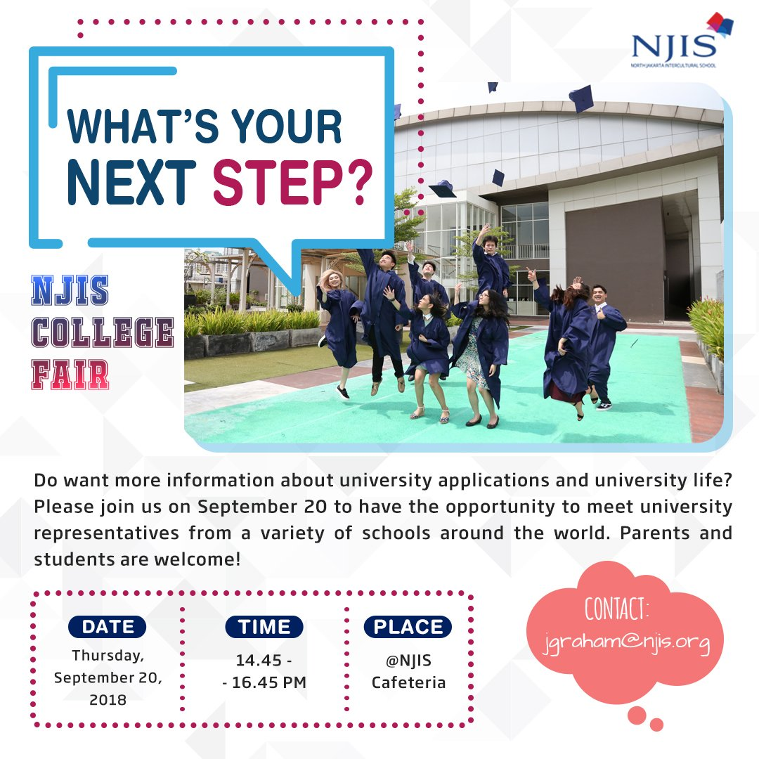 Njis Jakarta On Twitter Calling All The High Schoolers To Come To