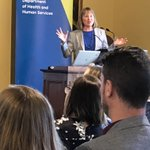 Professor Meg Morris launching the Victorian #alliedhealth research framework