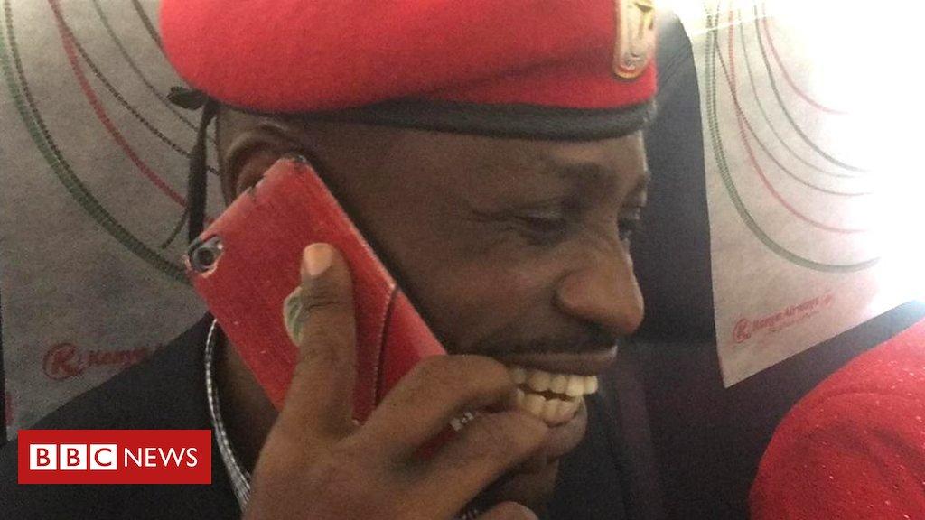 Bobi Wine on his return to Uganda https://t.co/QNpoPhcDXO