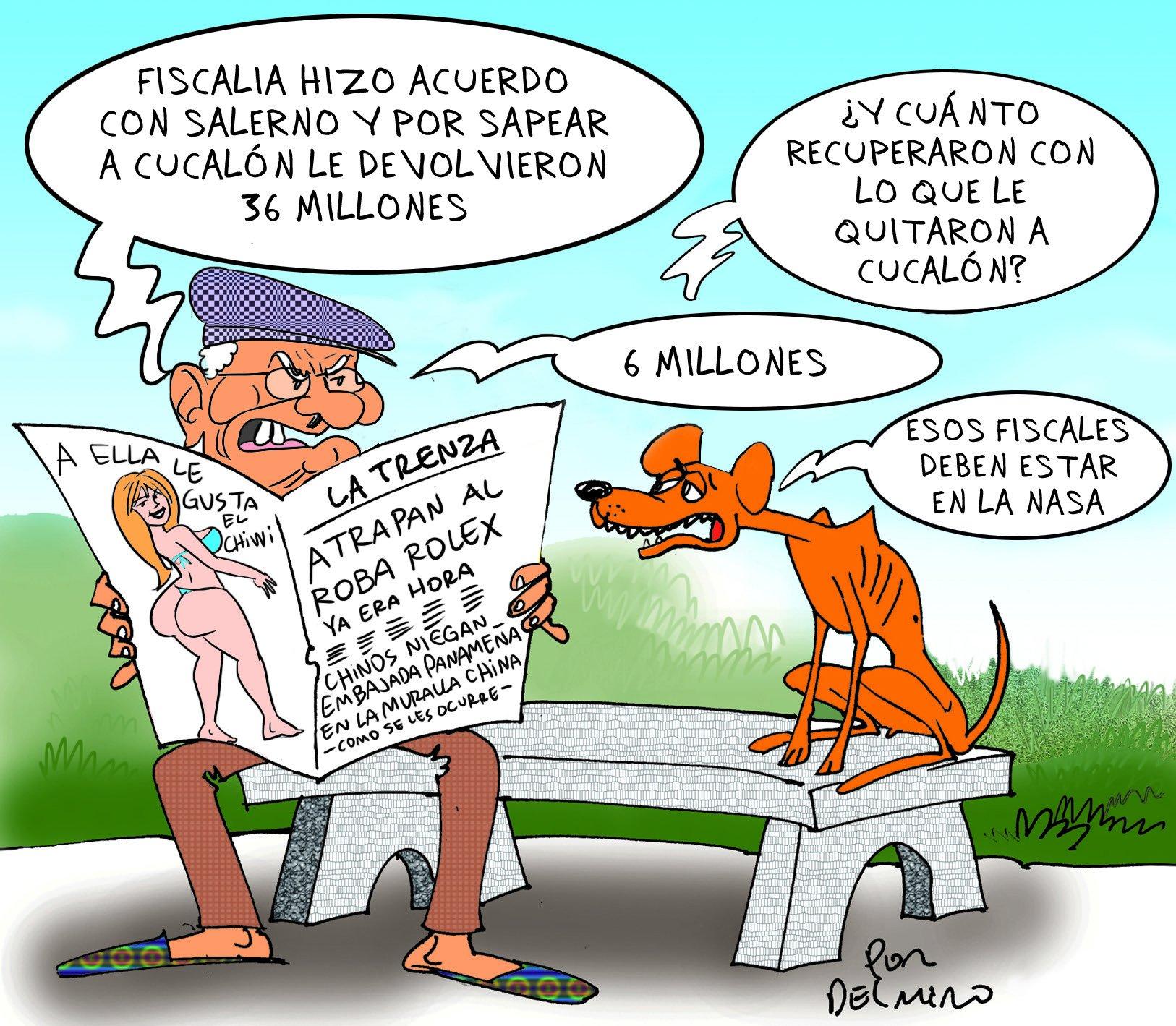 Salerno con la Suya | #Caricatura de @DelmiroQuiroga https://t.co/CWKByg2tuI