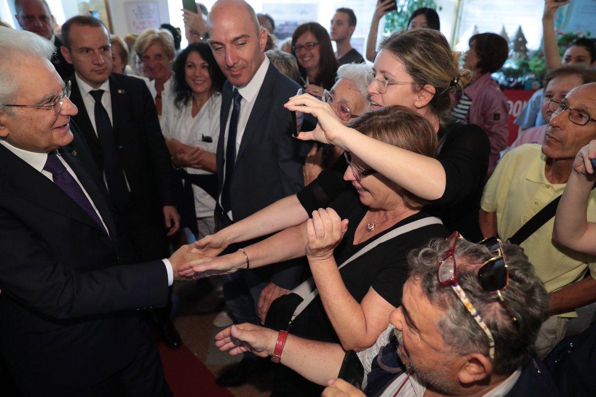 #Milano, Il Presidente #Mattarella all'Istituto Nazionale dei Tumori incontra il personale medico e gli ospiti della struttura  - Ukustom