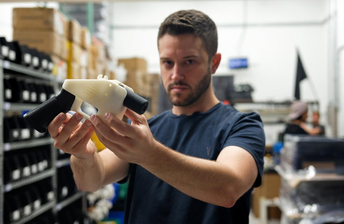3D Gun Printing Entrepreneur Cody Wilson Is on the Run From Police Over Child Sexual Assault Charge https://t.co/5O3t48zHGr