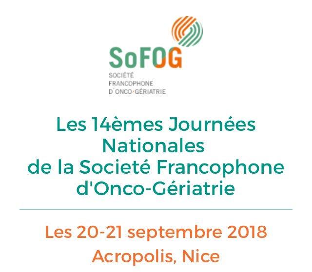 #SoFog #oncologie #gériatrie #RestonsConnectés les #médecins spécialistes de France en congrès à #Nice06 : la #telemedecine au service des équipes. La solution @Avis2sante1 est plébiscitée