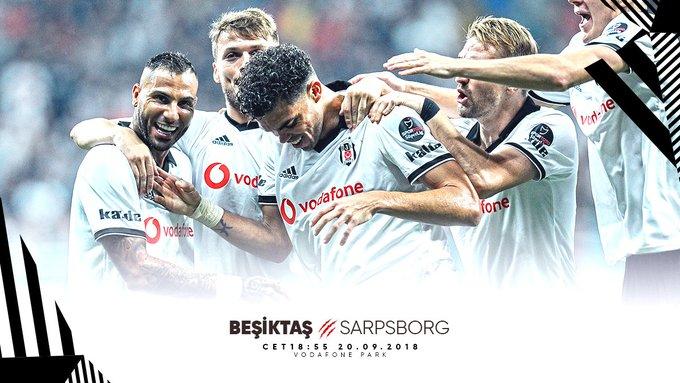 📣 Matchday 🏆 UEFA Europa League ⚽ Beşiktaş 🆚 Sarpsborg 📍 Vodafone Park 🗓 ⏰ CET 🦅 #Beşiktaş Photo