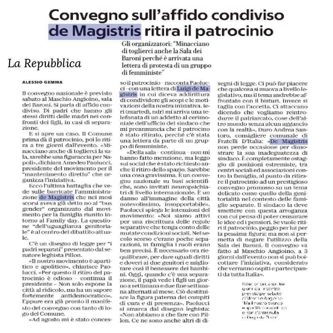 .@demagistris ovvero quanto vale la parola di un sindaco.#ddlPillon#Napoli #Napolimeritadimeglio  - Ukustom