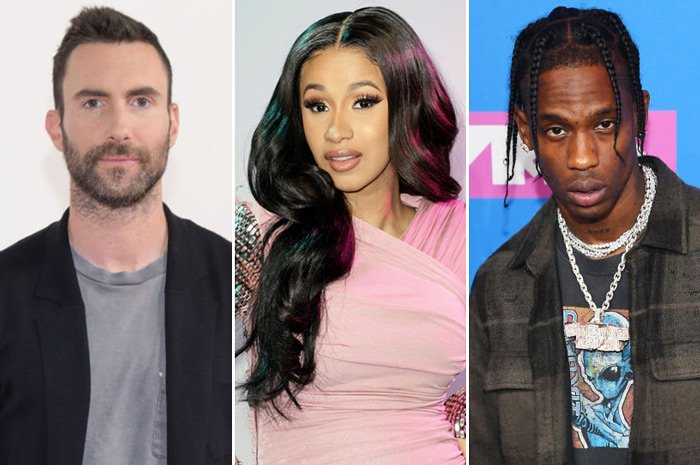 Cardi B and Travis Scott will reportedly join Maroon 5 at next year's Super Bowl halftime show https://t.co/EewiuiTtv1