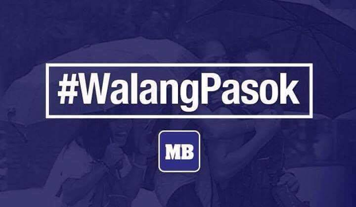 #WalangPasok: @PresidentErap suspends classes in ALL LEVELS, public and private, in the City of Manila on Friday, Sept. 21, 2018.