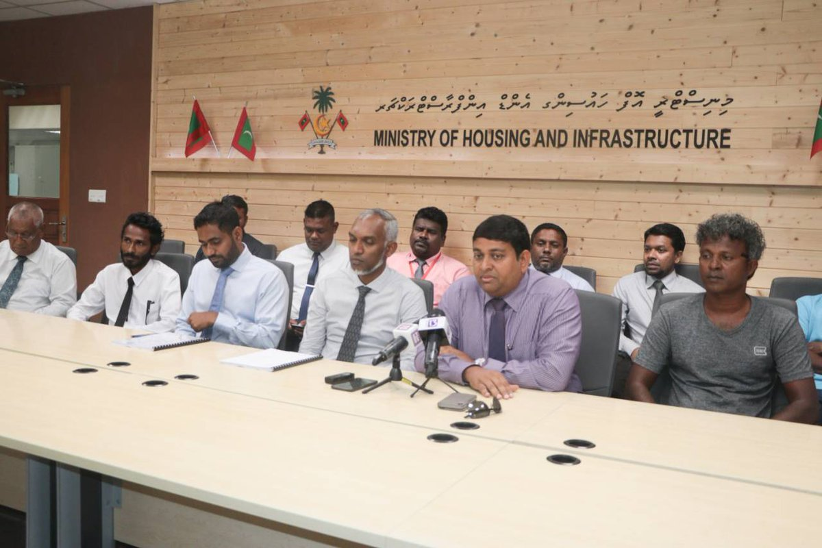 Contract signed with Maldives Transport and Contracting Company Plc for B. Fulhadhoo Harbour Project